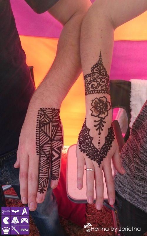 Henna by Jorietha - Henna (Mehndi) Pretoria, Gauteng, South Africa #hennabyjorietha #hennapretoria #hennasouthafrica #mehndi #henna #Mehndipretoria #hennahands #hennafeet #hennabody #hennaback #hennapalm #hennaneck #hennaart #hennainspiration #hennatattoo #naturalhenna #geekfest #geekfest2015