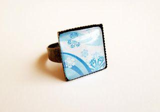 Kedy kreatív termékek: Hópelyhek gyűrű