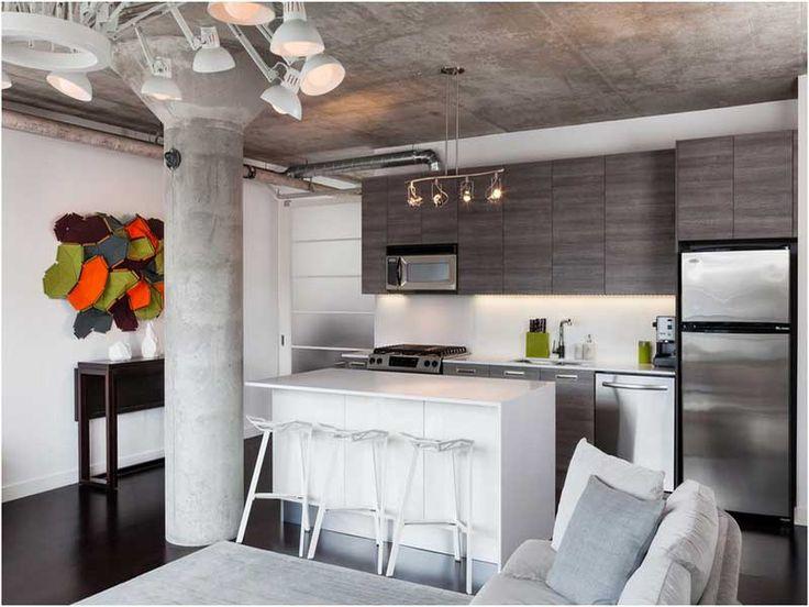 Die besten 25+ kleine Küchen Layouts Ideen auf Pinterest Küchen - kleine kuche im wohnzimmer