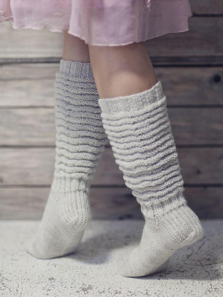 Ryppyvarsisukat Novita Nalle   Novita knits