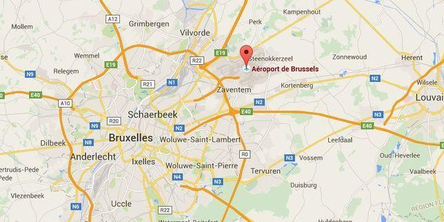 Evacuation de l'aéroport de Bruxelles à la suite d'une double explosion