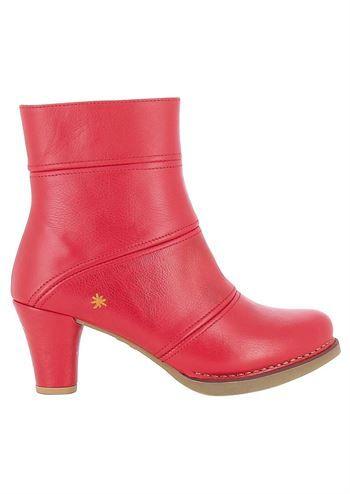 1f1d4205c54a ART støvler ST TROPEZ 1078 memphis carmin . Elegante røde støvler med hæl
