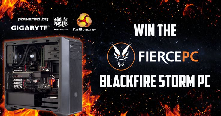 Win this awesome Fierce PC gaming system!
