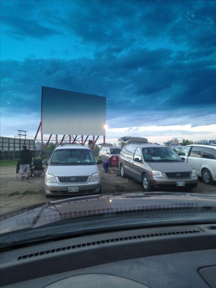 Stardust Drive-in in Morden Manitoba