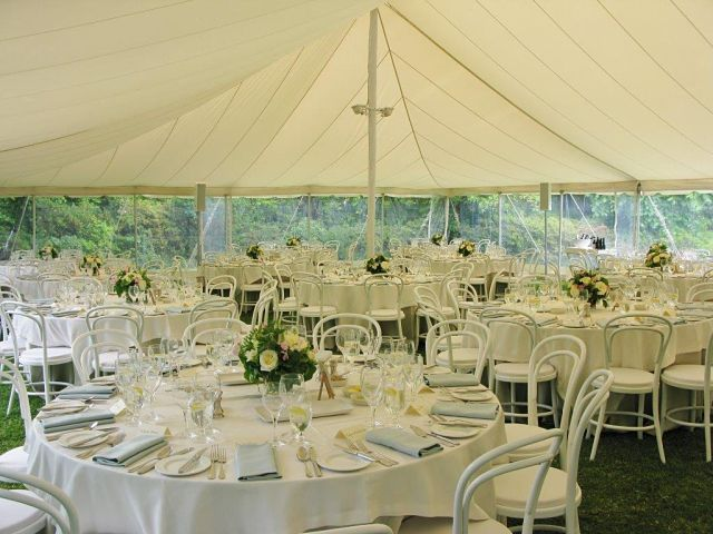 70th Birthday Garden Party,  Catering by Bay Leaf Catering