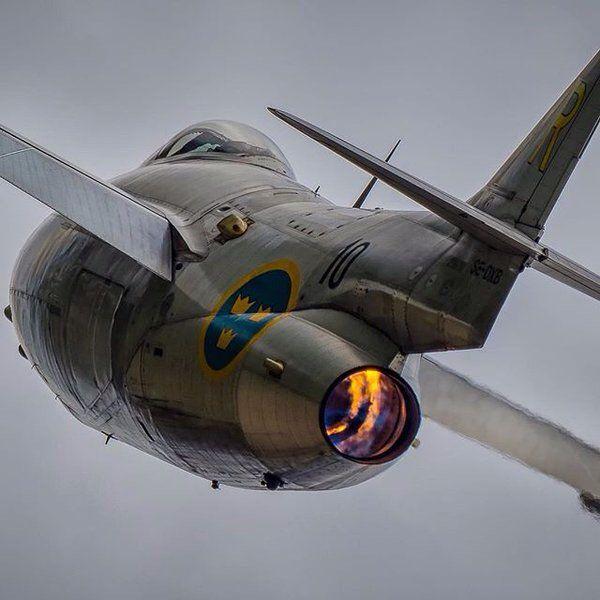 Swedish Air Force Saab 105 (Swedish high-wing, twin-engine trainer aircraft) still in service