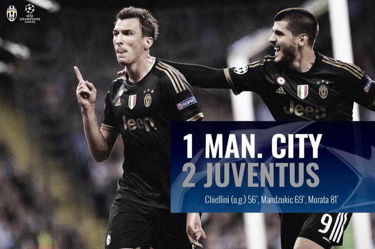 Manchester City - Juve 1-2  #ECL