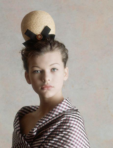 The Visual Evolution of Milla Jovovich via Esquire.com