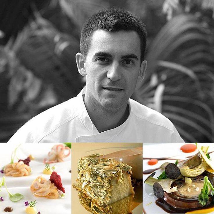 20154110 - M - 2 star -  Chef Paolo Casagrande - Restaurant Lasarte Barcellona, Italy #italianfood #italianchef #italianrestaurant www.100ITA.com