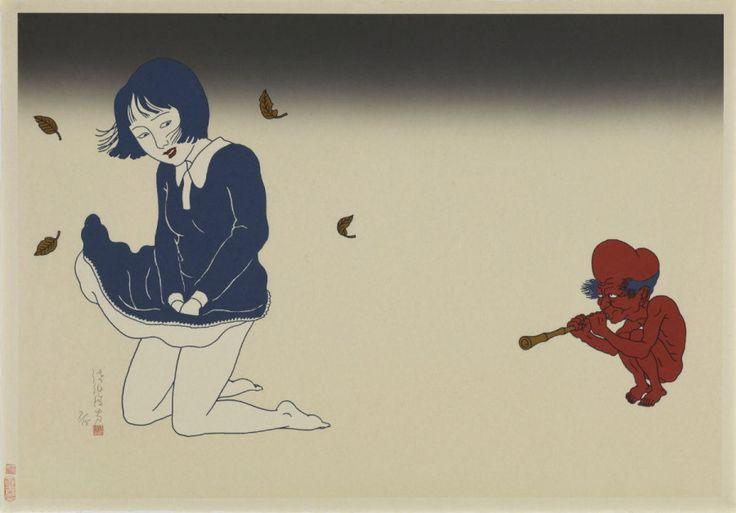 Vrijwel alles heeft een donkere kant en zo ook kunst. Toshio Saeki brengt dit aan het licht met zijn erotische, horror kunst