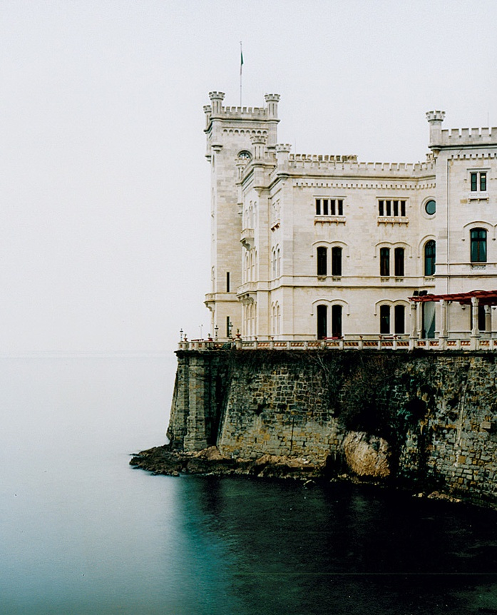The Miramare Castle is a 19th century castle, built for Austrian Archduke Maximilian and his wife, Charlotte of Belgium, on the Gulf of Trieste near Trieste, northeastern Italy.