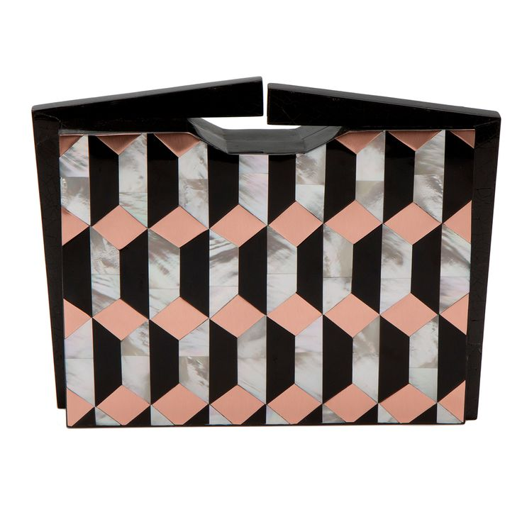 Nathalie Trad clutch #clutch #fashion #accessories #bags #handbags #valerydemure [discover more at www.valerydemure.com]