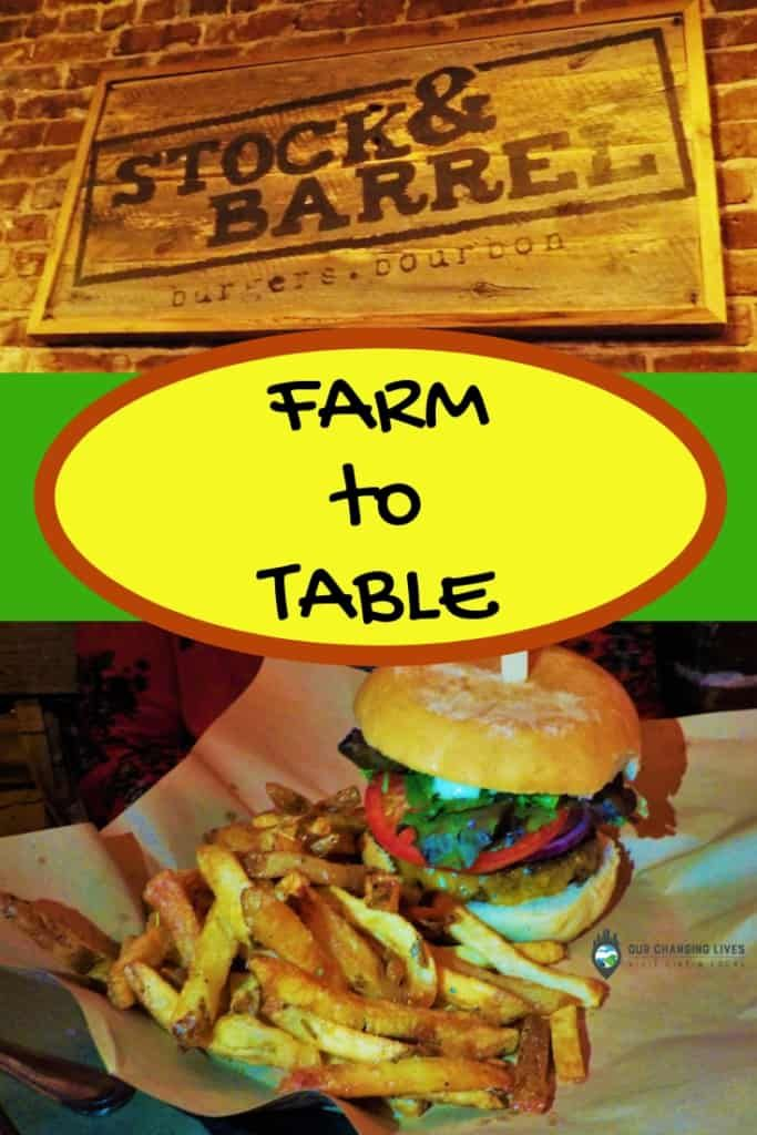 Farm To Table At Stock Barrel Knoxville Restaurants Foodie Cities Savoury Dishes