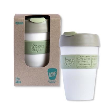 Medium KeepCup: Food Grade polypropylene, bpa free, non toxic, Barista standard
