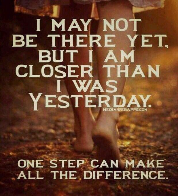 The journey of a thousand miles begins with the first step.