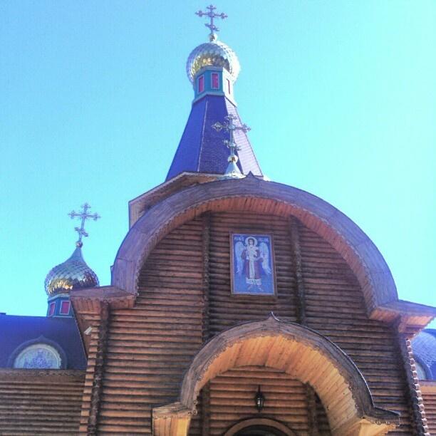 Храм Архангела Михаила в г. #Алтеа, #Испания. http://orthodox.es/ #instamoskow #Москва #Россия