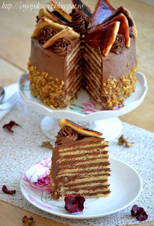 Dobos torte.   Cakes   Pinterest   Torte