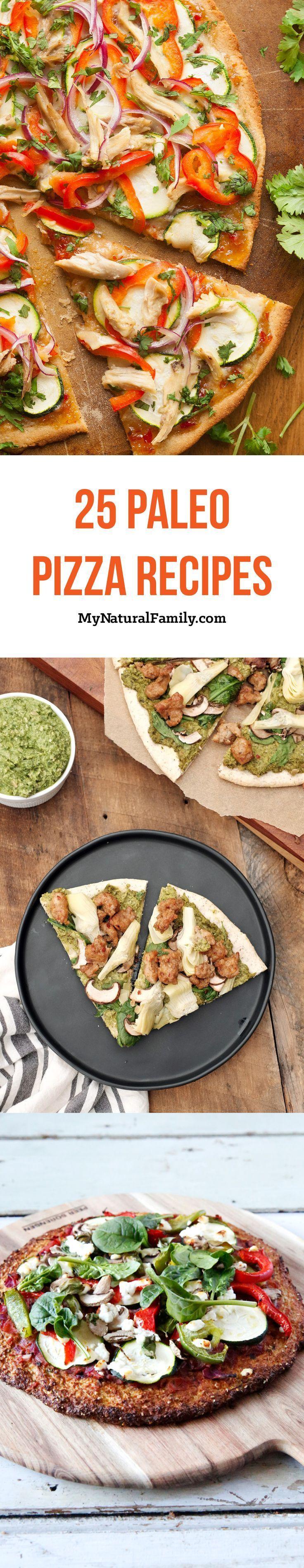 25 Paleo Pizza Recipes