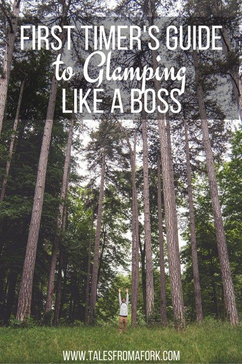 First timer's guide to glamping like a boss. Click through to find out how to glamp!
