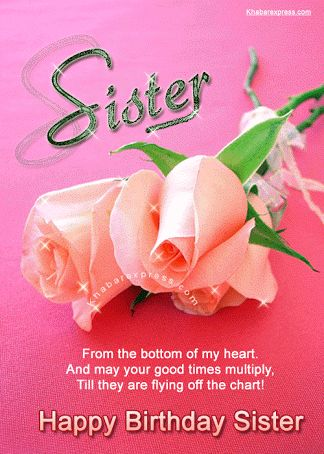 Image result for birthday cards for sister