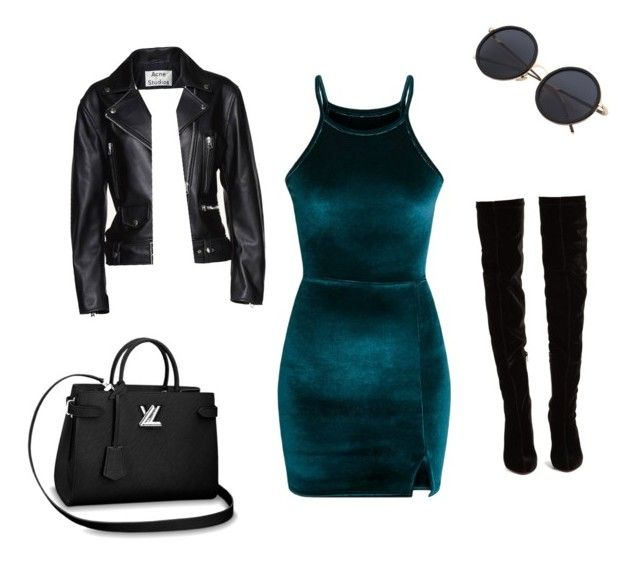 """""""Untitled #33"""" by jennybuutrago on Polyvore featuring Acne Studios and Christian Louboutin"""