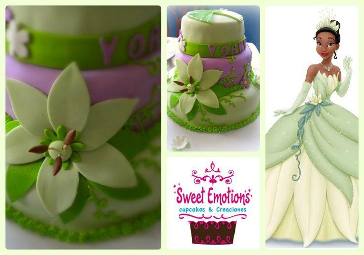 La princesa y el sapo tortas pinterest - Sapos y princesas valencia ...