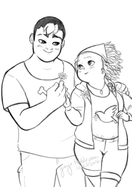I really like how it's timid, chubby Mylene that Ivan loves. They basically have the first reciprocated crushes in the class and it just makes me happy that the creators did that.