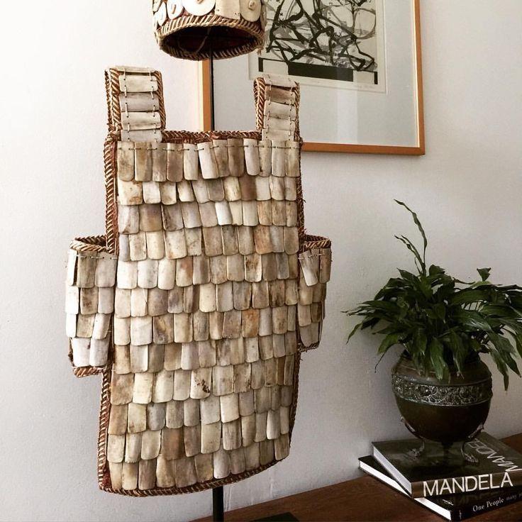 Rare Papua New Guinea ceremonial armour from Global Emporium