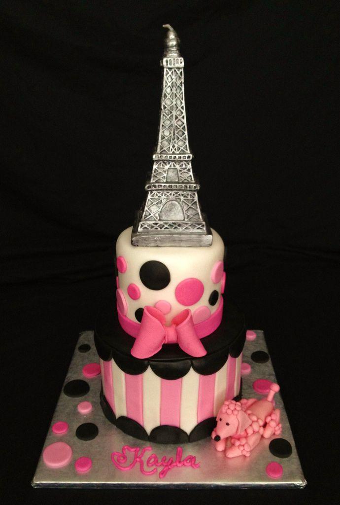 Best Paris Cakes Images On Pinterest Paris Cakes Paris - Birthday cake paris
