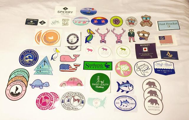How To Get Free Preppy Stickers   Giveaway