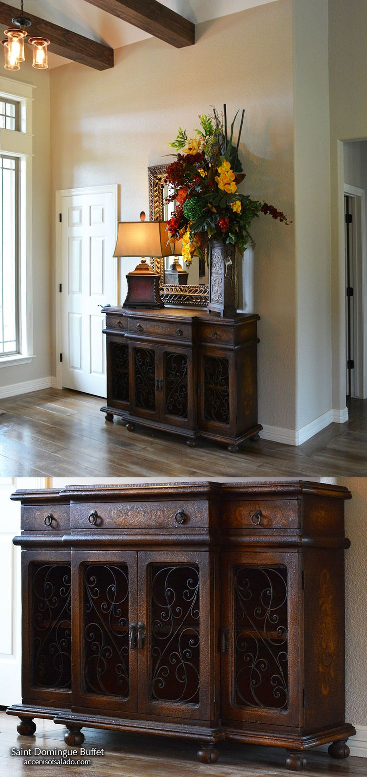 NEW INTRODUCTION   Old World Hand Painted Furniture Dining Room Buffet  Saint Domingue at Accents. Best 25  Old world furniture ideas on Pinterest   Gothic home