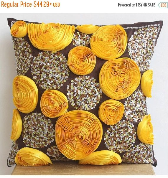15% HOLIDAY SALE Decorative Throw Pillow Covers by TheHomeCentric