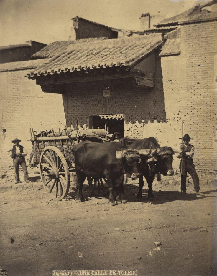 Casiano Alguacil - Street in Toledo, 1865
