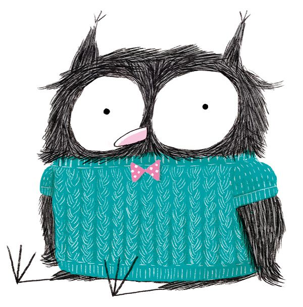 Awesome owl illustration hallo heute: