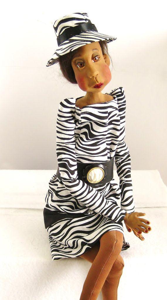 Ooak Art Doll - Elsa