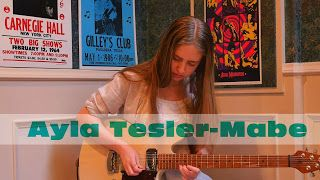 Ayla Tesler-Mabe: Voodoo Child- Vocal & Guitar    Thanks for watching my video! My name's Ayla Tesler-Mabe and I'm a 16 year old musician from Canada. This is my take on Jimi Hendrixs incredible tune Voodoo Child (Slight Return). I apologize that the audio qualitys a little different than usual; I was initially recording a little clip for Instagram using my camera mic but was really feeling it and figured Id post the whole thing here (which is why I had no way of increasing the volume of my…