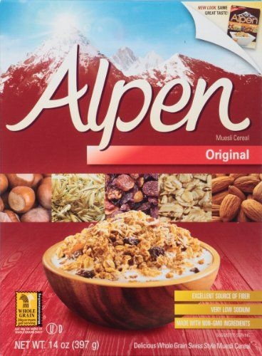 Alpen Cereal, Original, 14-Ounce Boxes (Pack of 6) - http://sleepychef.com/alpen-cereal-original-14-ounce-boxes-pack-of-6/