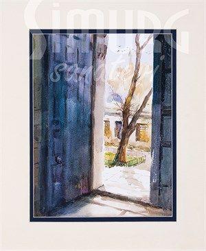 Gönül Kapısı (Sulu Boya)
