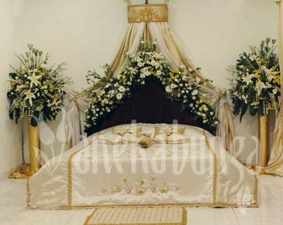 wedding bedroom decoration