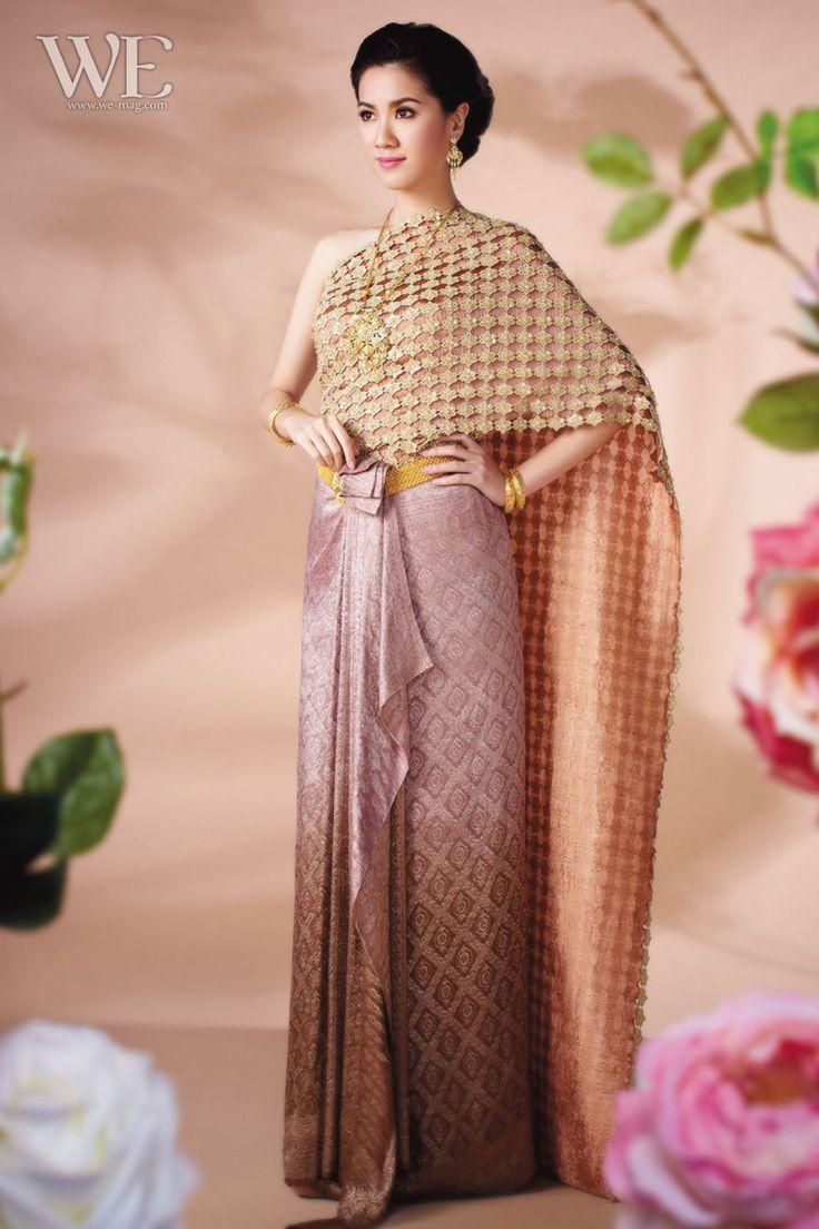 Thai wedding dress | Thai ~ Dress ( Traditional ...