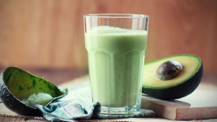 This detox shake from Dr. Alejandro Junger is low glycemic and high in good saturated fat.