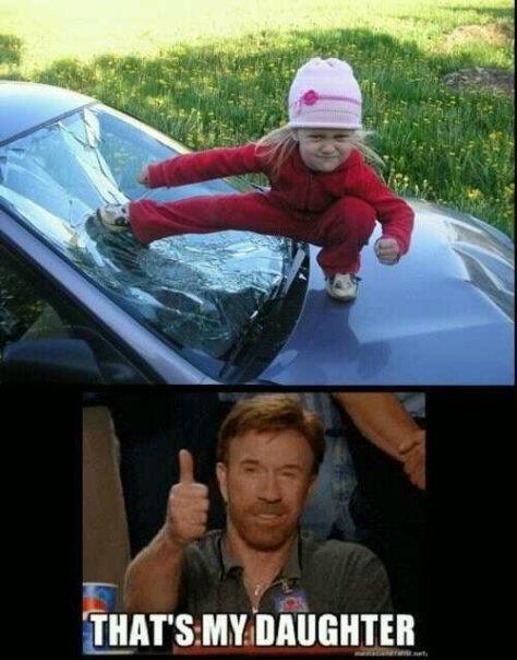 Yet another reason I like having small children around.  Hilarious photos!