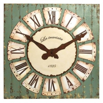Decorative Wall Clock $211.00 #thebellacottage #shabbychic #SALE