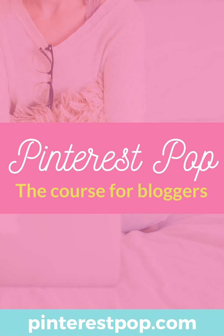 Pinterest Pop! An online Pinterest course that get you a Pinterest that works and a blog that benefits! Learn to use Pinterest, even if you're a beginner blogger. Social media doesn't have to be hard, you just have to know how. Check it out now!