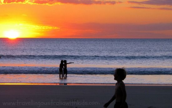 The iconic Cable Beach Broome - It's just magnificent to end the day playing in the ocean or watching the sunset on the beach in Western Australia.