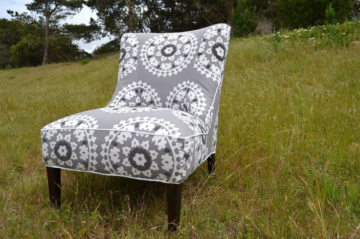 Vintage Accent Chair Restored And Reupholstered In By