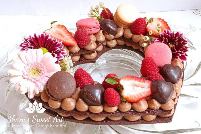 Chocolate Raspberry Cream Tart Recipe - Shani's Sweet Art