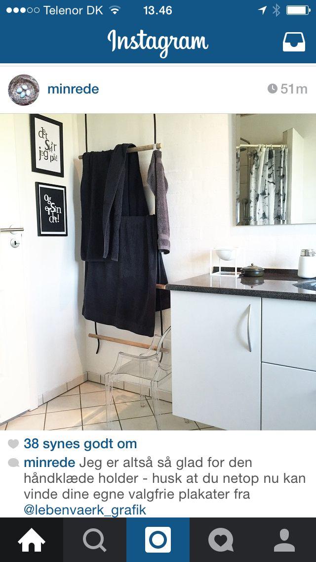 Håndklædeholder