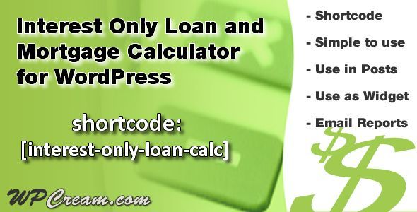Mortgage Calculator This Deals Interest Only Loan Mortgage
