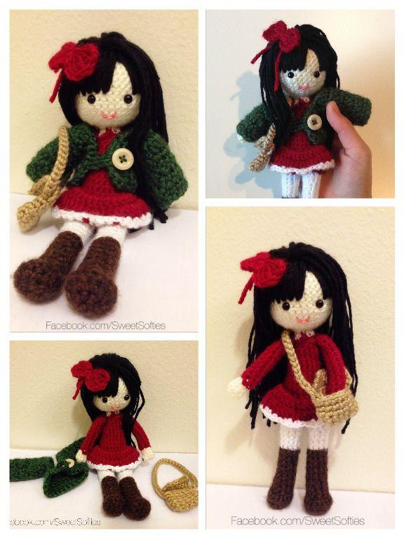 Amigurumi Crochet Anime Girl Doll Pattern - Ava the Autumn ...
